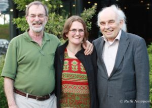 Ruth with Mentor, John Buck & Gerard Endenburg -founder of Sociocracy/Dynamic Governance